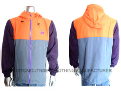 Men Polyester Wind-Jacket
