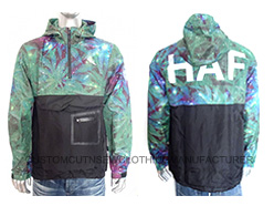 Men Sublimated Wind Jacket