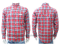 Men Checkered Cotton Shirt