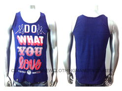 Men Cotton Printed Tank